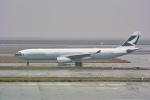 delawakaさんが、上海浦東国際空港で撮影したキャセイパシフィック航空 A330-343Xの航空フォト(飛行機 写真・画像)