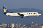 あしゅーさんが、福岡空港で撮影したスカイマーク 737-8HXの航空フォト(写真)