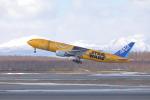 とろーるさんが、新千歳空港で撮影した全日空 777-281/ERの航空フォト(写真)