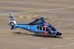 ドリさんが、福島空港で撮影した警視庁 EC155B1の航空フォト(写真)