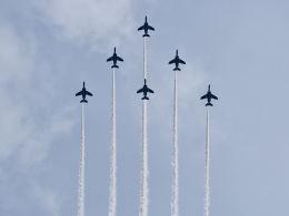 tamitanさんが、横浜海上防災基地で撮影した航空自衛隊 T-4の航空フォト(飛行機 写真・画像)