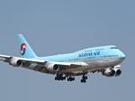 今ちゃんさんが、福岡空港で撮影した大韓航空 747-4B5の航空フォト(写真)
