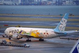 Parsleyさんが、羽田空港で撮影したAIR DO 767-381の航空フォト(飛行機 写真・画像)