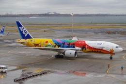 Parsleyさんが、羽田空港で撮影した全日空 777-281/ERの航空フォト(飛行機 写真・画像)