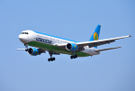 mojioさんが、成田国際空港で撮影したウズベキスタン航空 767-33P/ERの航空フォト(飛行機 写真・画像)
