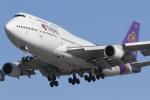 nob24kenさんが、新千歳空港で撮影したタイ国際航空 747-4D7の航空フォト(写真)