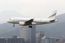 HLeeさんが、台北松山空港で撮影したロタナ・ジェット・アヴィエーション A319-115CJの航空フォト(飛行機 写真・画像)