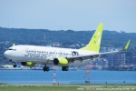 tabi0329さんが、長崎空港で撮影したソラシド エア 737-86Nの航空フォト(写真)