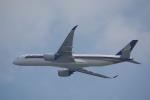 JA8037さんが、香港国際空港で撮影したシンガポール航空 A350-941XWBの航空フォト(写真)