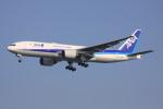 けいとパパさんが、羽田空港で撮影した全日空 777-281/ERの航空フォト(写真)