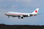ウッディーさんが、新千歳空港で撮影した航空自衛隊 747-47Cの航空フォト(写真)