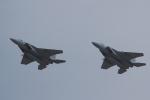 違いがわかる男さんが、防府北基地で撮影した航空自衛隊 F-15DJ Eagleの航空フォト(写真)