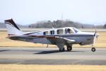 ピーチさんが、岡山空港で撮影したノエビア A36 Bonanza 36の航空フォト(写真)