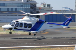 TUILANYAKSUさんが、東京ヘリポートで撮影した三井物産エアロスペース AW139の航空フォト(写真)