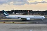 よしポンさんが、成田国際空港で撮影したキャセイパシフィック航空 777-367の航空フォト(写真)