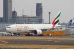 セブンさんが、成田国際空港で撮影したエミレーツ航空 777-F1Hの航空フォト(写真)