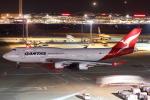セブンさんが、羽田空港で撮影したカンタス航空 747-438/ERの航空フォト(飛行機 写真・画像)