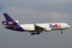 セブンさんが、成田国際空港で撮影したフェデックス・エクスプレス MD-11Fの航空フォト(飛行機 写真・画像)