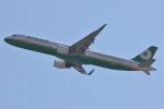 itobunkjpさんが、関西国際空港で撮影したエバー航空 A321-211の航空フォト(写真)
