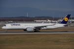 JA8037さんが、ミュンヘン・フランツヨーゼフシュトラウス空港で撮影したルフトハンザドイツ航空 A350-941XWBの航空フォト(写真)