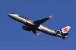 地主さんが、成田国際空港で撮影したジェットスター・ジャパン A320-232の航空フォト(写真)