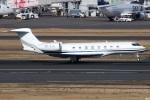 グリスさんが、羽田空港で撮影したプライベートエア Gulfstream G650ER (G-VI)の航空フォト(写真)