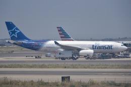 cornicheさんが、レオナルド・ダ・ヴィンチ国際空港で撮影したエア・トランザット A330-243の航空フォト(写真)
