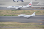 AntonioKさんが、羽田空港で撮影したプライベートエア Falcon 2000の航空フォト(写真)