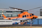 Mizuki24さんが、東京ヘリポートで撮影した新日本ヘリコプター 412EPの航空フォト(写真)