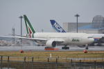 LEGACY-747さんが、成田国際空港で撮影したアリタリア航空 777-243/ERの航空フォト(写真)
