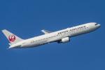 mameshibaさんが、羽田空港で撮影した日本航空 767-346/ERの航空フォト(写真)