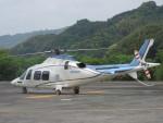 ランチパッドさんが、静岡ヘリポートで撮影した日本デジタル研究所(JDL) AW109SPの航空フォト(写真)