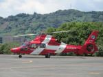 ランチパッドさんが、静岡ヘリポートで撮影した浜松市消防航空隊 AS365N3 Dauphin 2の航空フォト(写真)
