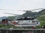 ランチパッドさんが、静岡ヘリポートで撮影したアカギヘリコプター Ka-32A11BCの航空フォト(写真)