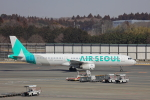 じゃりんこさんが、成田国際空港で撮影したエアソウル A321-231の航空フォト(写真)
