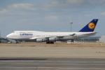 きんめいさんが、関西国際空港で撮影したルフトハンザドイツ航空 747-430の航空フォト(写真)
