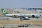 眠たいさんが、関西国際空港で撮影したエバー航空 A330-302Xの航空フォト(写真)