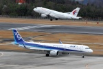 梅こぶ茶さんが、広島空港で撮影した全日空 A321-272Nの航空フォト(写真)
