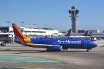 cornicheさんが、ロサンゼルス国際空港で撮影したサウスウェスト航空 737-8H4の航空フォト(写真)