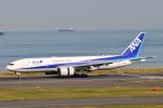 panchiさんが、羽田空港で撮影した全日空 777-281/ERの航空フォト(写真)