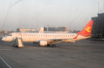 coolinsjpさんが、大連周水子国際空港で撮影した天津航空 ERJ-190-100 LR (ERJ-190LR)の航空フォト(写真)