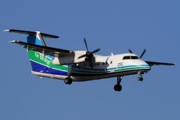 ウッディーさんが、福岡空港で撮影したオリエンタルエアブリッジ DHC-8-201Q Dash 8の航空フォト(写真)