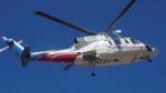 ゴンタさんが、双葉滑空場で撮影した山梨県防災航空隊 S-76Bの航空フォト(写真)