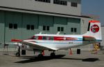 チャーリーマイクさんが、調布飛行場で撮影した宇宙航空研究開発機構 65 Queen Airの航空フォト(写真)