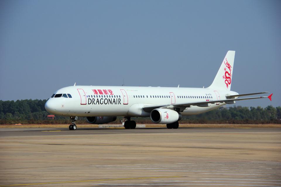 yabyanさんの香港ドラゴン航空 Airbus A321 (B-HTK) 航空フォト