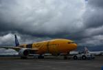 HS888さんが、鹿児島空港で撮影した全日空 777-281/ERの航空フォト(写真)