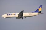 けいとパパさんが、羽田空港で撮影したスカイマーク 737-8HXの航空フォト(写真)