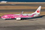 ぱん_くまさんが、中部国際空港で撮影した日本トランスオーシャン航空 737-8Q3の航空フォト(写真)