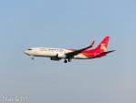 PoYi Tingさんが、台湾桃園国際空港で撮影した深圳航空 737-87Lの航空フォト(写真)