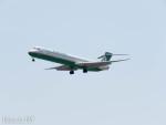 PoYi Tingさんが、台湾桃園国際空港で撮影したエバー航空 MD-90-30の航空フォト(写真)